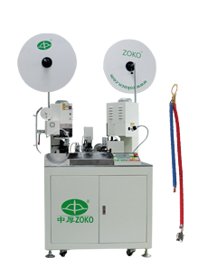 Full-Automatic two cables joint crimping machine( crimping two terminals)
