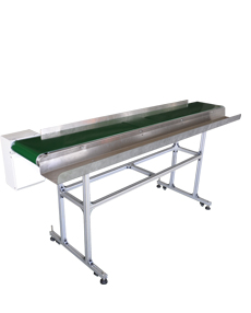 Conveyor belt for processing long wire