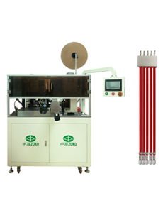Automatic 5 wires stripping crimping and housing inserting machine